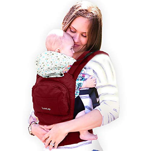 Luvlap Elite Baby Carrier (Red)