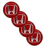 Accesorios para automóviles 4pcs 65mm Wheel Hub Centro Etiqueta engomada de la etiqueta de la cubierta de la etiqueta de la etiqueta engomada de la cubierta Logo Modificación de automóviles Pegatinas