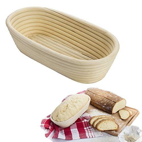 """Westmark 32042270 Oval Fermentation Baskets, 11"""" x 5"""" 2.75"""", Wicker"""