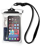 Ringke Waterproof Case Funda Impermeable Móvil, la Pantalla Táctil Funciona Bien, Bolsa Impermeable Transparente Compatible con iPhone 12/Pro/MAX/Mini, 11, XR, 7, Redmi Note 10, Poco X3 Pro - Grande