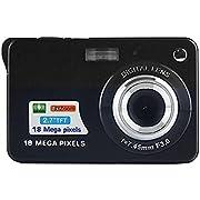 Digitalkamera, CamKing CDC3 2.7 Zoll TFT LCD HD Mini Digitalkamera (Schwarz)