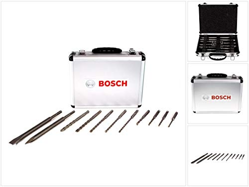 Bosch Professional Bosch 2608578765 SDS+ Bohrer Meißel-Set, 11-teilig, in Aluminiumkoffer