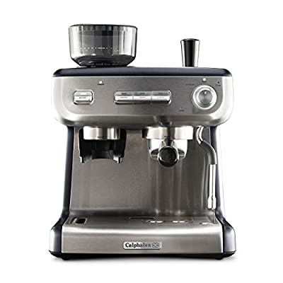 Calphalon Temp iQ Espresso Machine with Steam Wand, Stainless