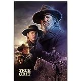 Sanwooden True Grit Film John Wayne Western Poster