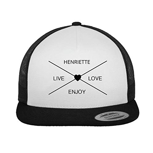 JOllify HENRIETTE Trucker Cap Kappe Mütze – Design: Hipper Hipster