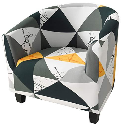 Fundas elásticas para sillón, fundas para sillón, funda elástica a prueba de polvo, funda protectora universal para silla de baño, decoración para sala de estar, comedor (minimalismo)