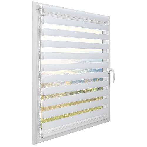 Sol Royal Persiana para Ventanas y Puertas SolDecor DL2 Estor Doble -...