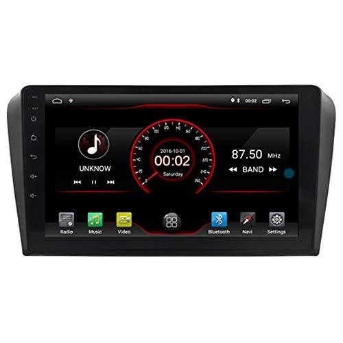 Autosion Android 10 Lettore Dvd GPS Stereo autoradio Navi Radio Multimedia WiFi per Mazda 3 2004 2005 2006 2007 2008 2009 Controllo Volante Nero