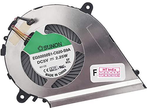(CPU Version) Lüfter Kühler Fan Cooler kompatibel für Lenovo Yoga 700-14ISK (80QD0072GE), 700-14ISK (80QD008EGE), 700-14ISK (80QD00C5GE)