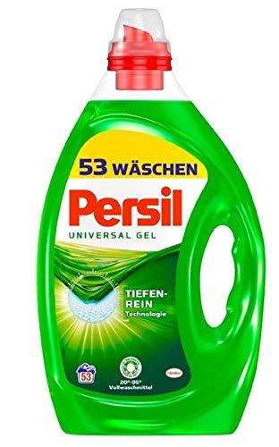 Persil Universal Gel, Flüssigwaschmittel, 106 (2x53) Waschladungen mit Tiefenrein-Technologie