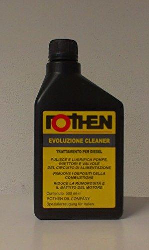 Rothen Evoluzione Cleaner - Aditivo para vehículos automóviles de gasóleo, botella de 500 ml