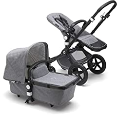 Ready for Anything: Suitable for children up to 37.5lbs, our infant (with included bassinet) to toddler stroller is there for your family from day one. The new edition offers a spacious under-seat basket to hold all your essentials. Great for Travel:...