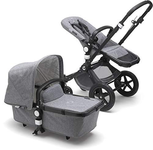 Learn More About Bugaboo Cameleon3 Plus Classic Complete Stroller, Black/Grey Melange - Versatile, F...