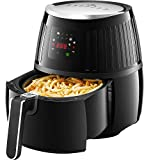 Tidylife 4L Air Fryer, 1500W 8 in 1 Oil Free Airfryer with Cookbook