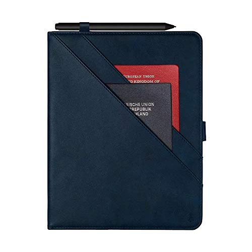HHF Pad accesorios Para Microsoft Surface Pro 7 4 5 6, Tarjeta de cuero de PU Funda de la cartera de la cartera de la tableta Para la cubierta a prueba de golpes Para Microsoft Surface Pro 7 4 5 6 PRO