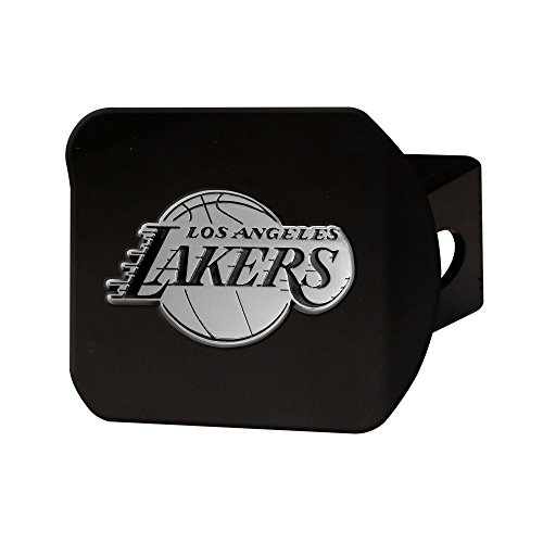 NBA - Los Angeles Lakers Black Metal Hitch Cover