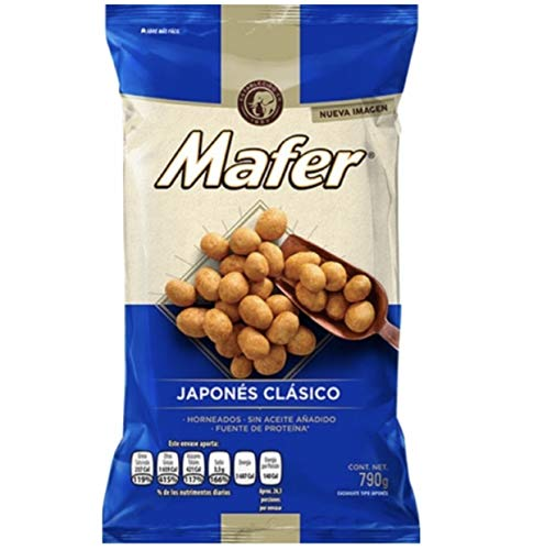 Cacahuate Japonés Mafer 790 g.