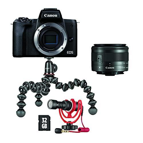 Canon EOS M50 Mark II Vlogger Kit Kamera...