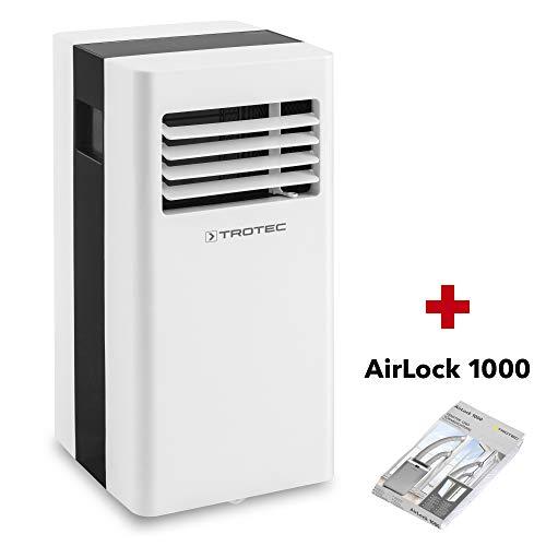TROTEC Lokales Klimagerät PAC 2600 X mobile 2,6 kW Klimaanlage 3-in-1-Klimagerät inkl. Airlock 1000