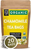 Organic Chamomile Tea Bags | 20 Tea Bags | Eco-Conscious Tea Bags in Kraft Bag | Raw from Egypt | by...