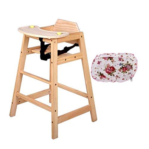 JJJJD Hölzerner Baby-Hochstuhl, Der Speisesaal-Speisetisch Der Säuglingskinder Und Stuhl Mit Dem Nahrungsmittelbehälter-Handel Oder Zuhause