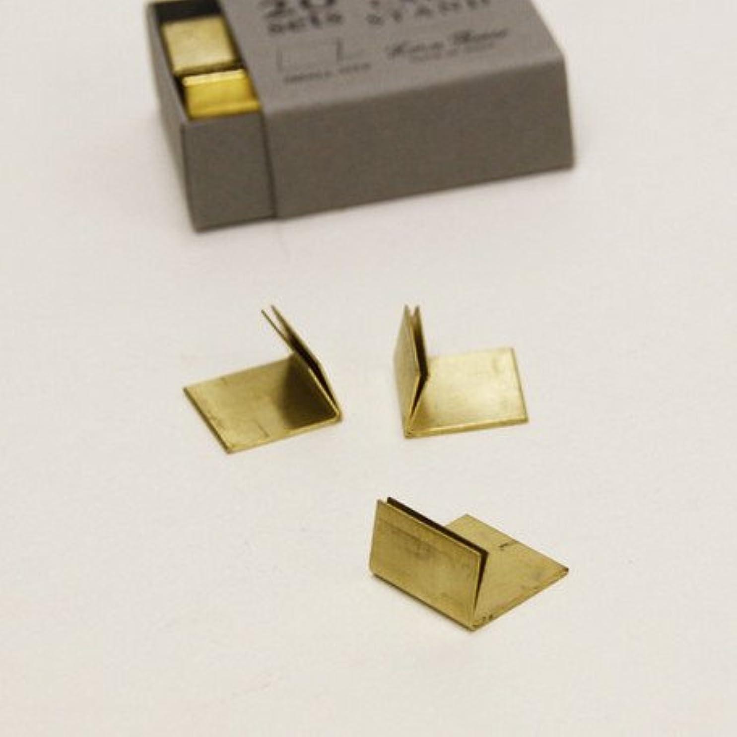 デザイナープライムバインド真鍮 アンティーク風 カードスタンド プライススタンド 20個セット ゴールド