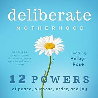 Deliberate Motherhood audiobook cover art