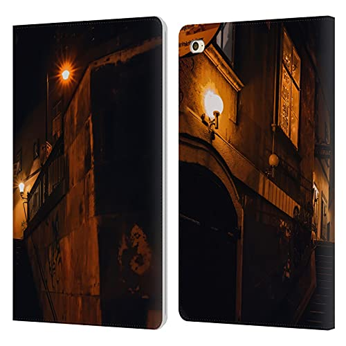Head Case Designs Officially Licensed Simone Gatterwe Yellow Lights Vienna Leather Book Wallet Case Cover Compatible With Apple iPad mini 4