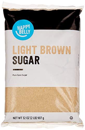 Amazon Brand – Happy Belly Light Brown Sugar, 2lb