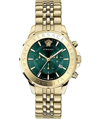 Versace SIGNAT.44 D/GREE B/IP2N V310 VEV6006 19 - Reloj de Pulsera par
