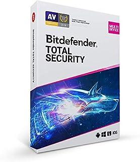 Bitdefender Total Security | 5 dispositivos | 1 año | PC/Mac | EN