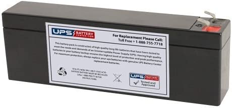 12V 世界の人気ブランド お気に入 2.6Ah F1 Replacement Battery GS Portalac for PX12026 TLV122