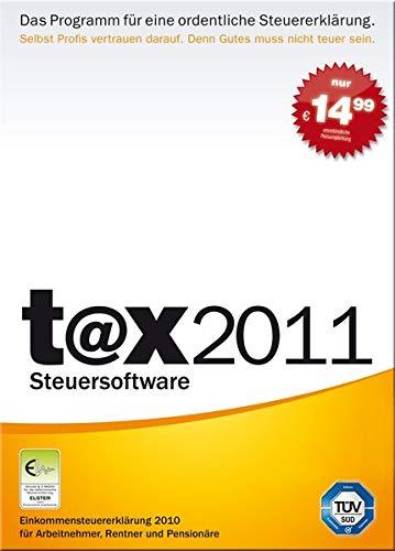 Preisvergleich Produktbild t@x 2011 (für Steuerjahr 2010)