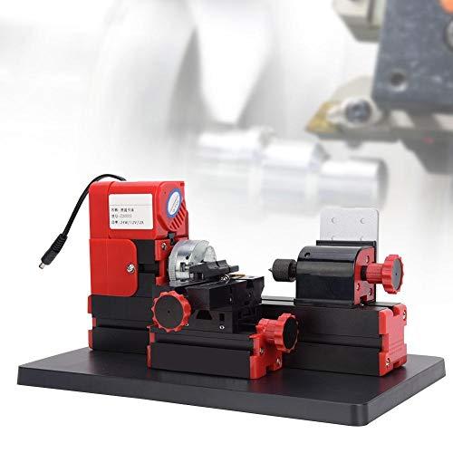 Mini Gemotoriseerde Draaibank DIY Kleine Gereedschappen, Mini Gemotoriseerde Draaibank Machine DIY Elektrisch Gereedschap 20000rpm 24W Z20002 Plug 100-240V