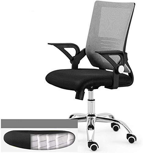 Life Equipment Silla giratoria para el hogar 45 grados;El elevador de cojín de resorte reclinable puede acomodar reposabrazos silla de computadora de oficina silla giratoria de 360 grados (Color