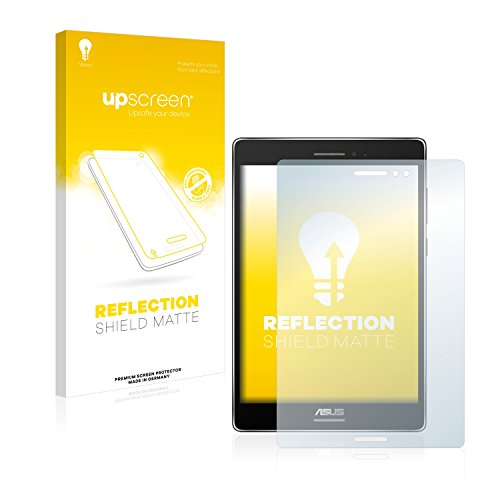 upscreen Entspiegelungs-Schutzfolie kompatibel mit Asus ZenPad S 8.0 – Anti-Reflex Bildschirmschutz-Folie Matt