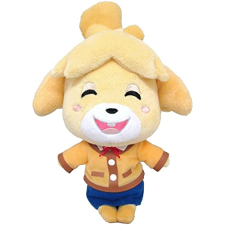 Animal Crossing Isabelle 4.7 Inch Plush