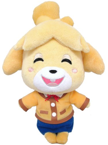 Sanei Animal Crossing New Leaf Doll Smiling Isabelle/Shizue 9