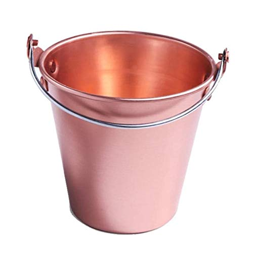 YWSZJ Exklusive Insulated Eiskübel - gut gemacht Doppel-Wand-Champagne Bucket Hält EIS gefroren Längerer Edelstahl Eiskübel