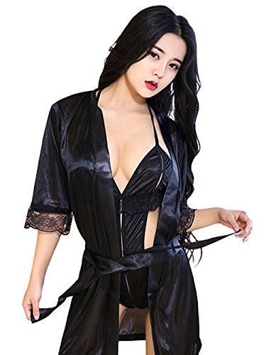 (VIVID STYLE) 性感 女士内衣 有裙子的裸露度很高的性感 SEXYTEDDY 237 黑色 日本 フリーサイズ-(FREE サイズ)
