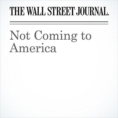 Not Coming to America copertina