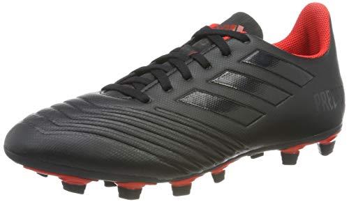 adidas Predator 19.4 FxG, Herren Fußballschuhe, Schwarz (Core Black/Active Red), 41 1/3 EU