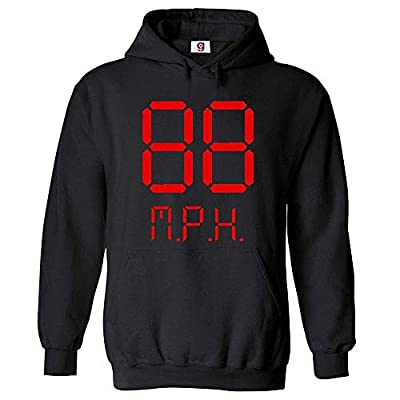 Adults or Kids Back To The Future 88MPH Hoodie