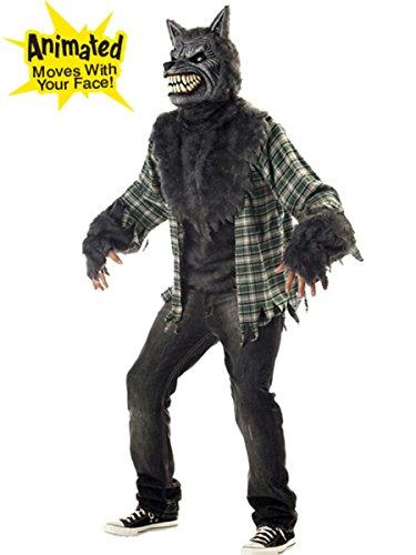 California Costume Costume de Loup Garou Menaçant Taille : L