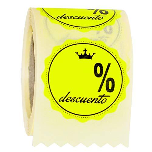 ETINOVA RPO003 - Etiquetas adhesivas, pegatinas, stickers, Rebajas, ofertas, descuentos, Black Friday -