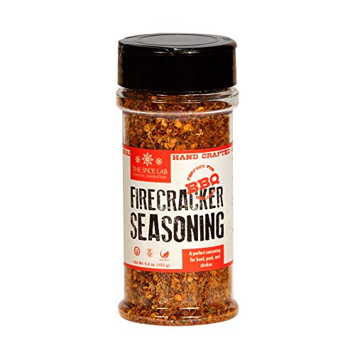 The Spice Lab No. 13 - Firecracker Spicy Steak Seasoning, Shaker Jar