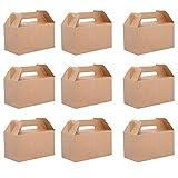 Belle Vous Cajas Regalo Papel Kraft (Pack de 24) - 16x9x9cm Caja de Presentacion...