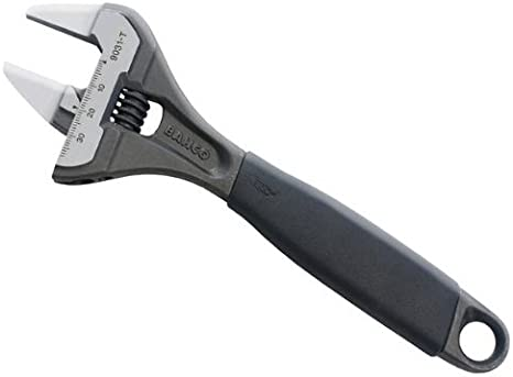 environ 20.32 cm Bahco BAH9031T 9031 T ERGO ™ Slim Jaw Adjustable Wrench 200 mm 8 in