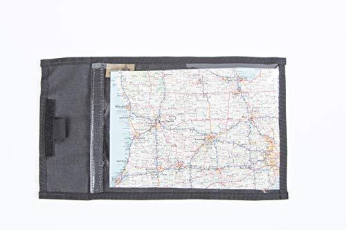 Raine Individual Map Case, Black