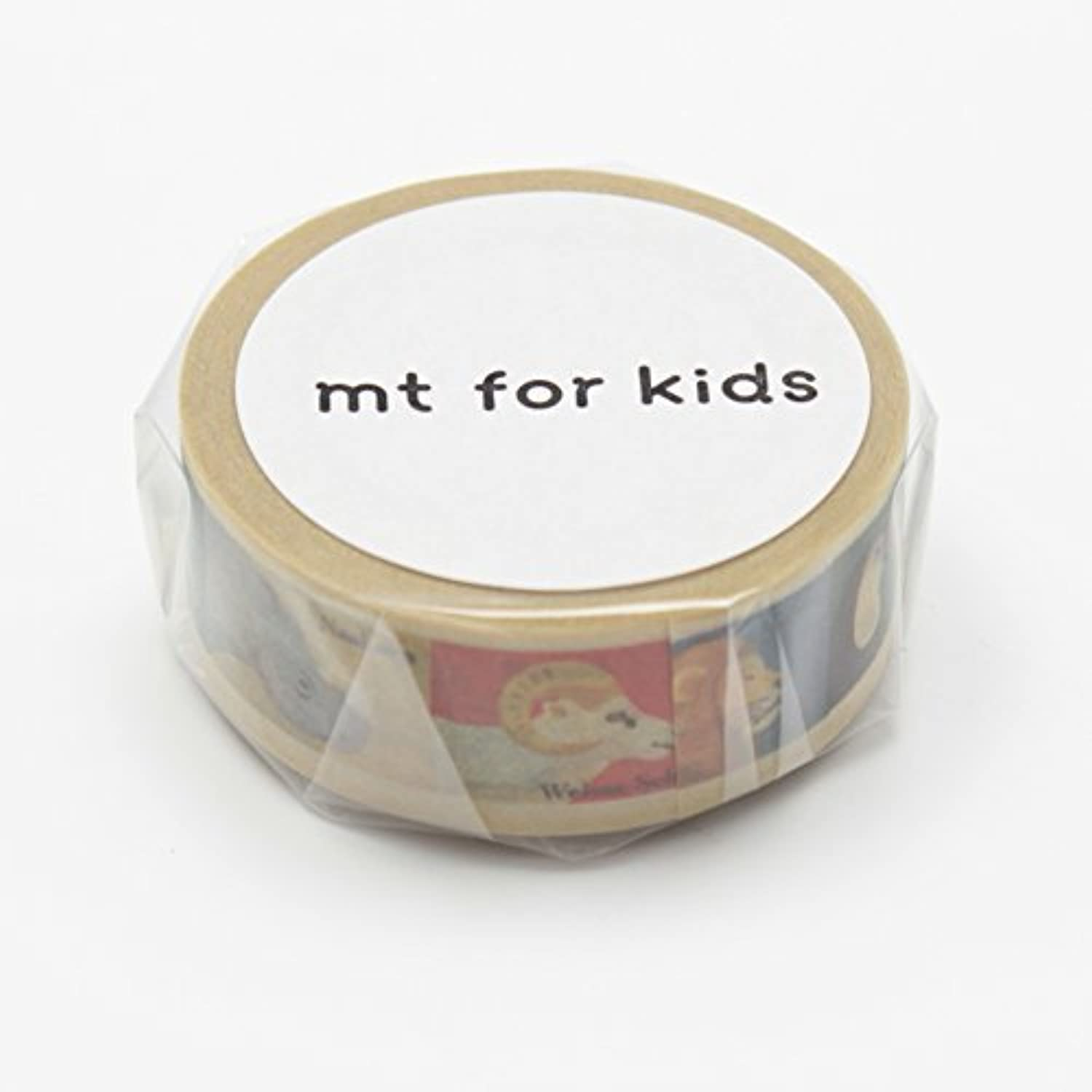 MT Washi Masking Tape for Kids Animal Tape (MT01KID010) by by by MT B01IQFCCNS   Luxus  fb604f